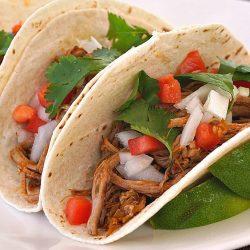 Slow Cooked Barbacoa Beef Tacos