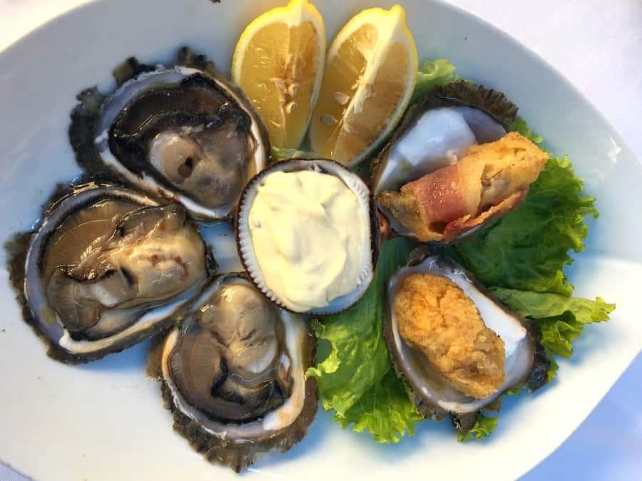 Ston Croatia Oysters