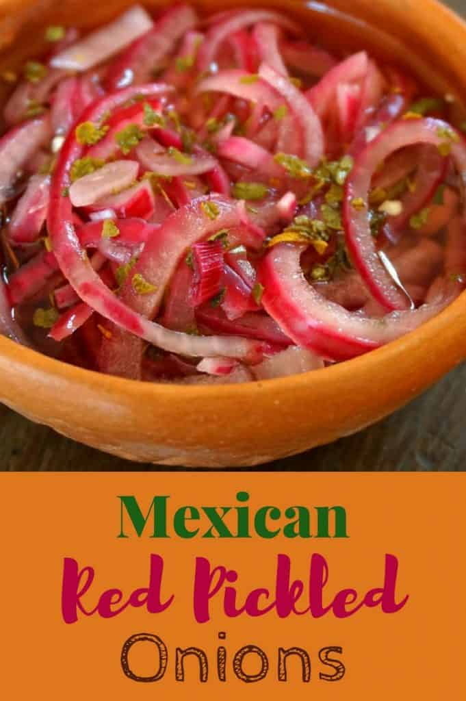 Mexican Red Pickled Onions