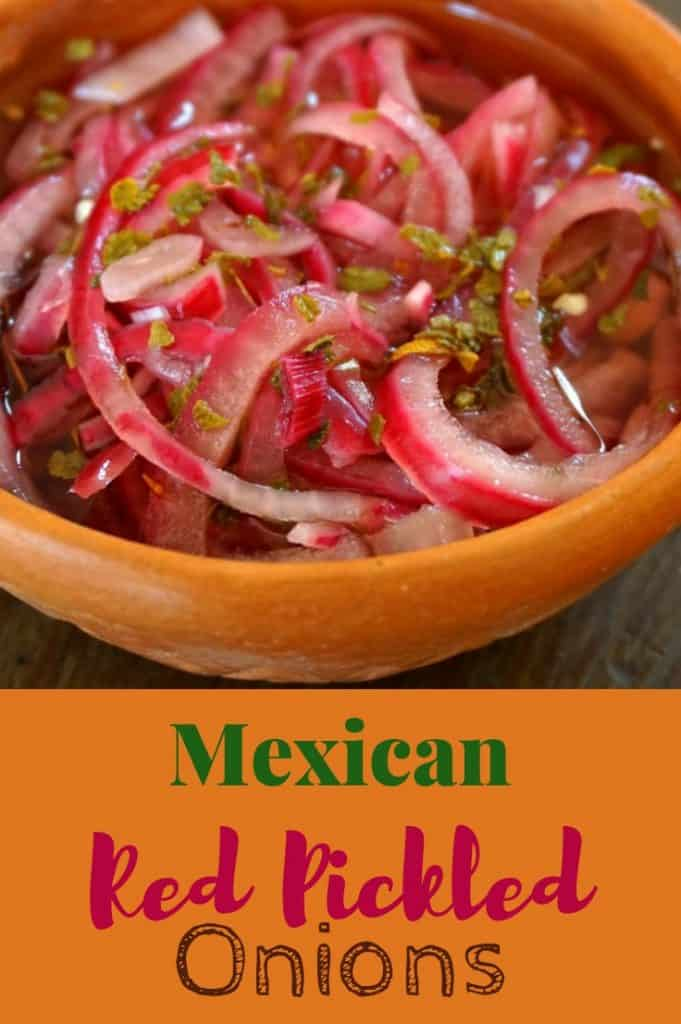 Mexican Pickled Red Onions Recipe