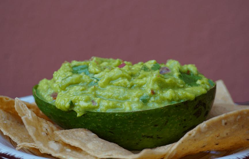 Ultimate Chunky Guacamole Dip