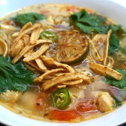 Sopa de Lima – Mexican Chicken Lime Soup
