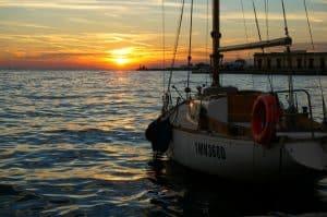 Trieste Italy Sunset