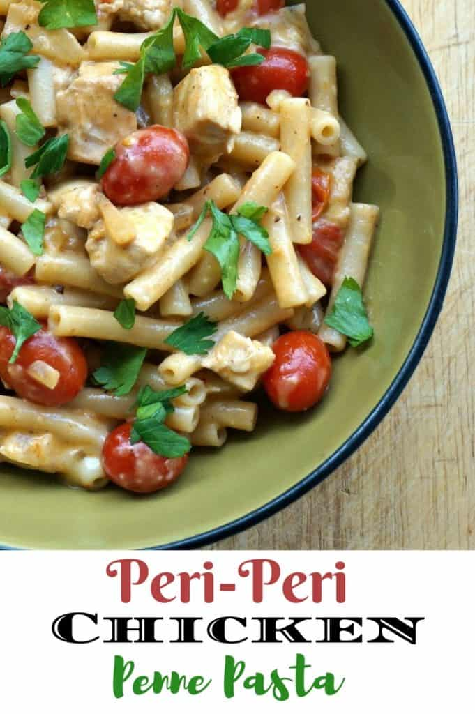 Peri-Peri Pasta Chicken