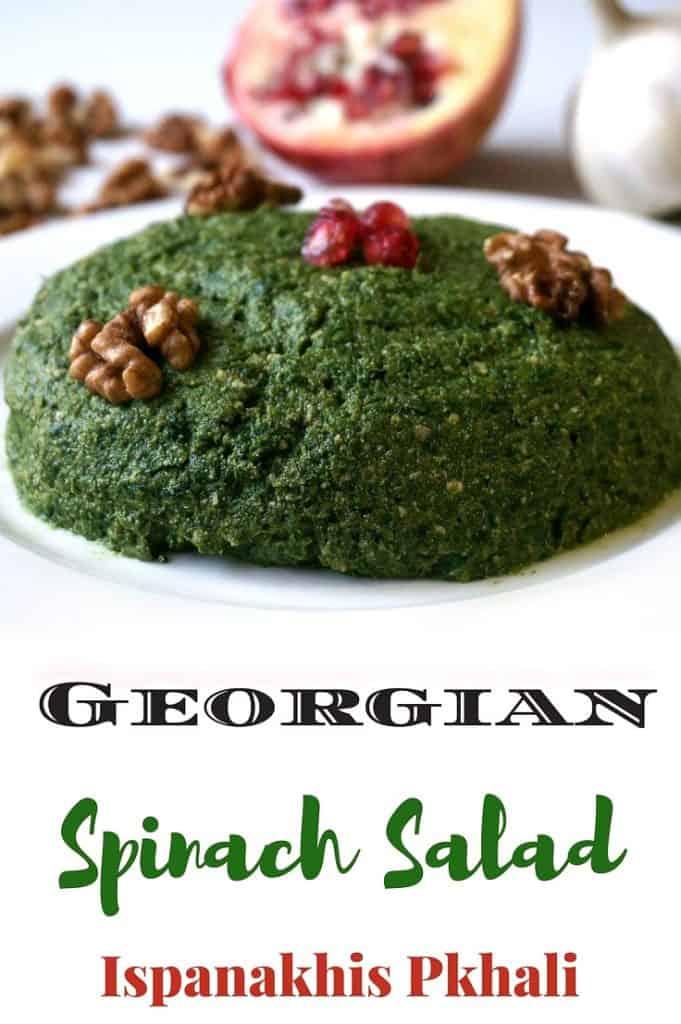 Georgian Spinach Salad - Pkhali