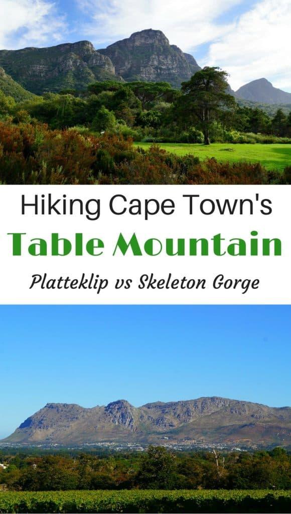Table Mountain Hikes