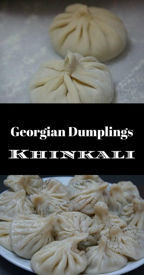 Georgian Kinkali Dumplings Xinkali Chinkali
