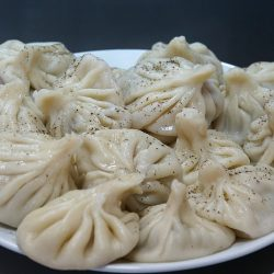 Khinkali – Georgian Beef and Pork Soup Dumplings
