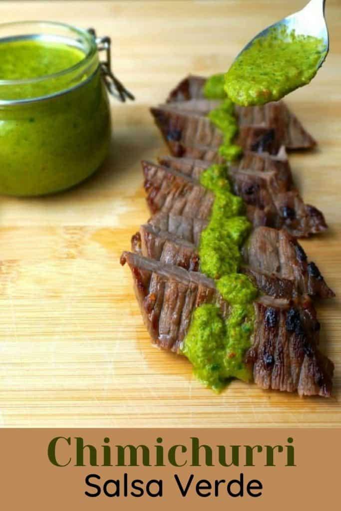 Chimichurri Salsa Verde