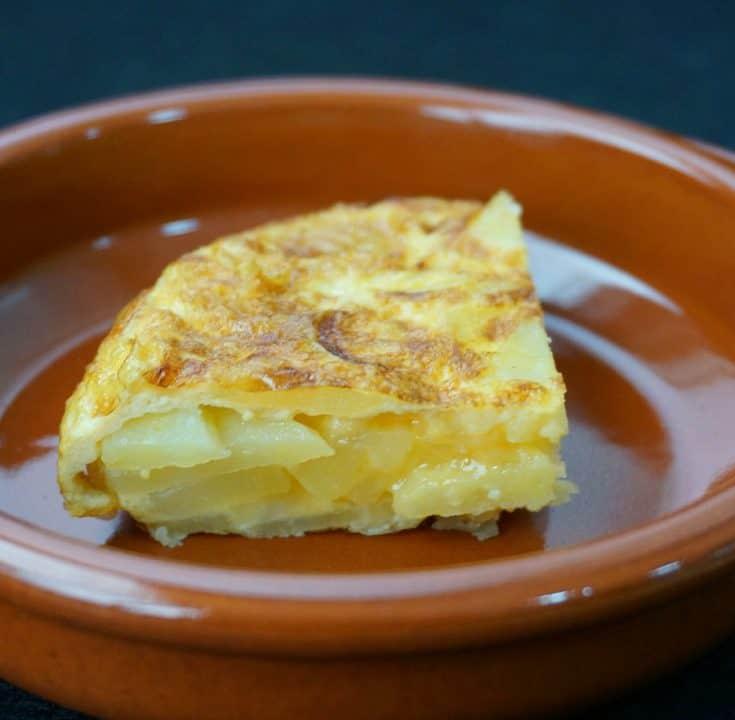 Potato Onion Tortilla