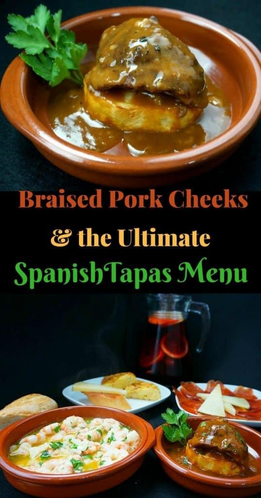 Braised Pork Cheeks - Carrilladas