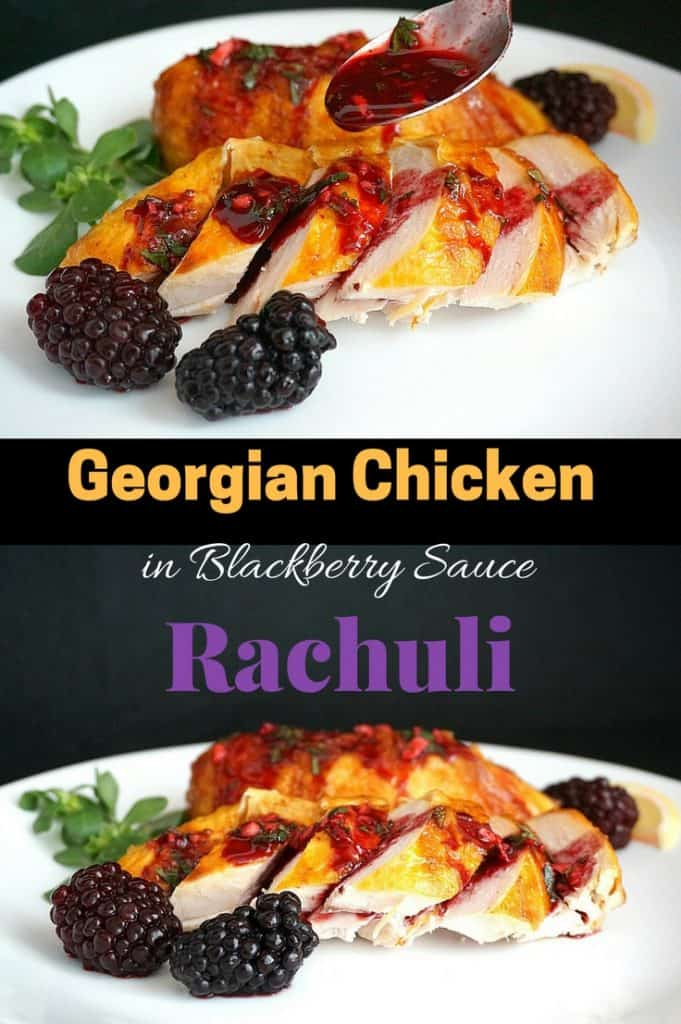 georgian blackberry rachuli chicken