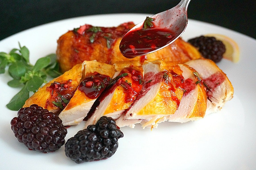 Georgian Blackberry Chicken