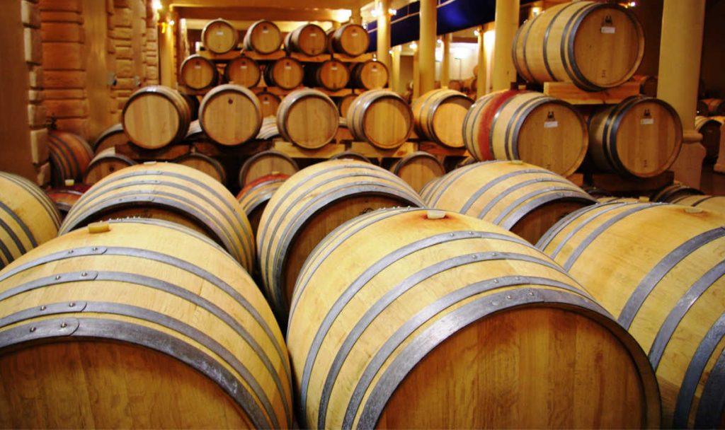 Stellenbosch Wine Barrels
