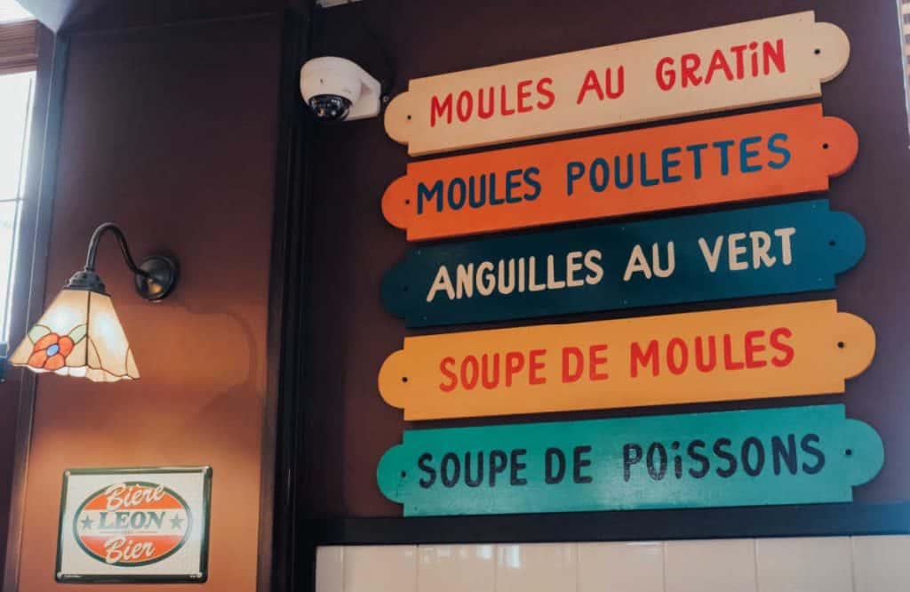 Where to Eat in BrusselsL: Chez Leon