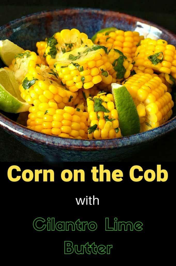 Corn Cilantro Lime Butter