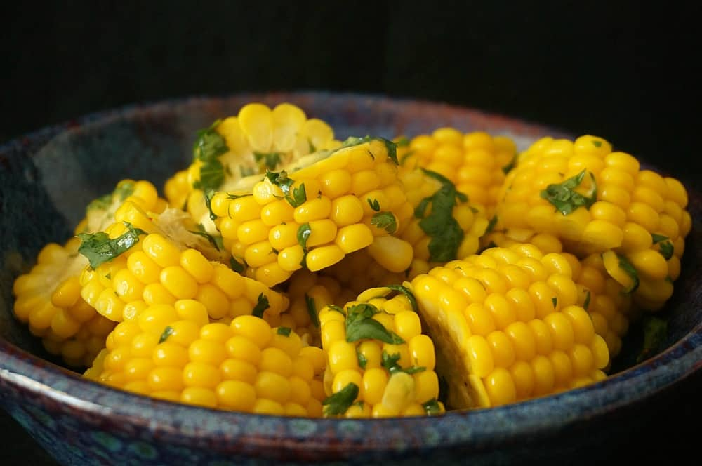 Corn Cilantro Lime Butter