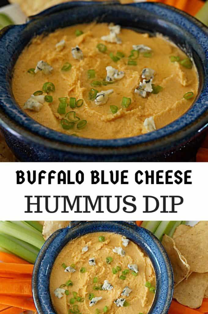 Buffalo Blue Cheese Hummus Recipe