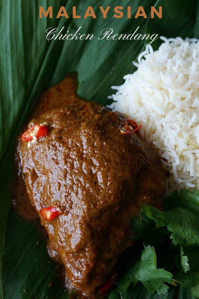 Malaysian Chicken Coconut Curry Recipe