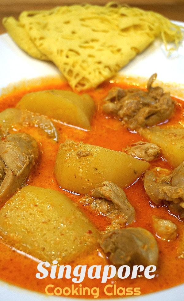 Chicken Curry Roti Jala