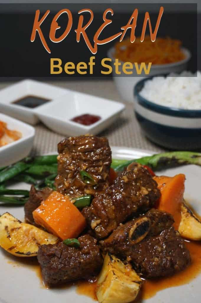 Korean Beef Stew Recipe