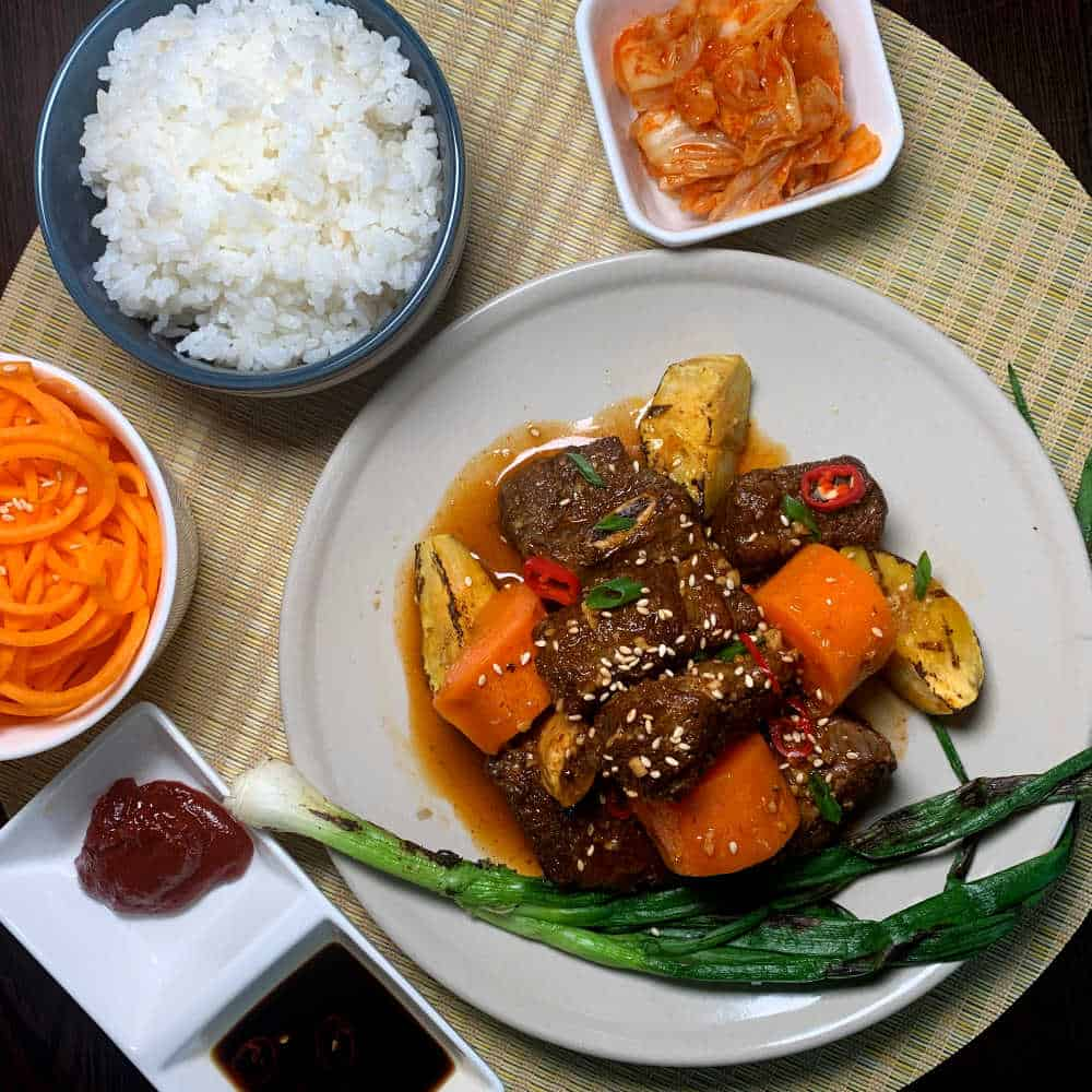 Korean Beef Stew