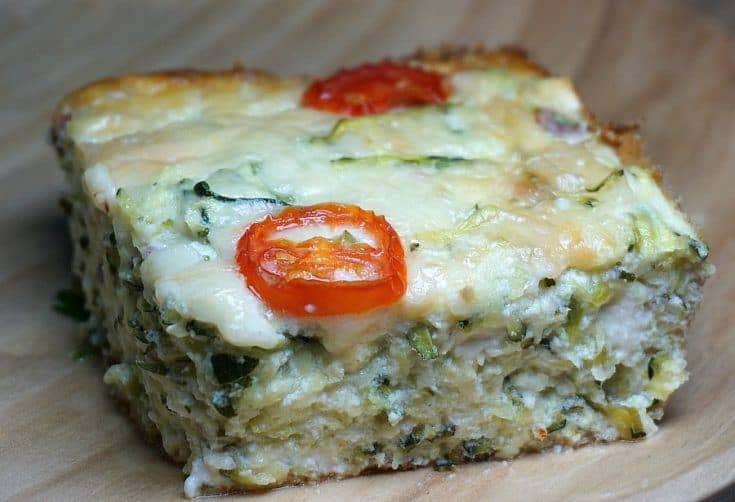 Zucchini and Cheese Pie