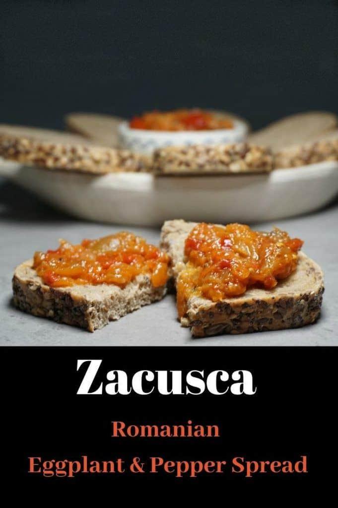 Zacusca Romanian Eggplant Pepper Spread