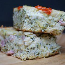 Budinca de Dovlecei – Zucchini Pie