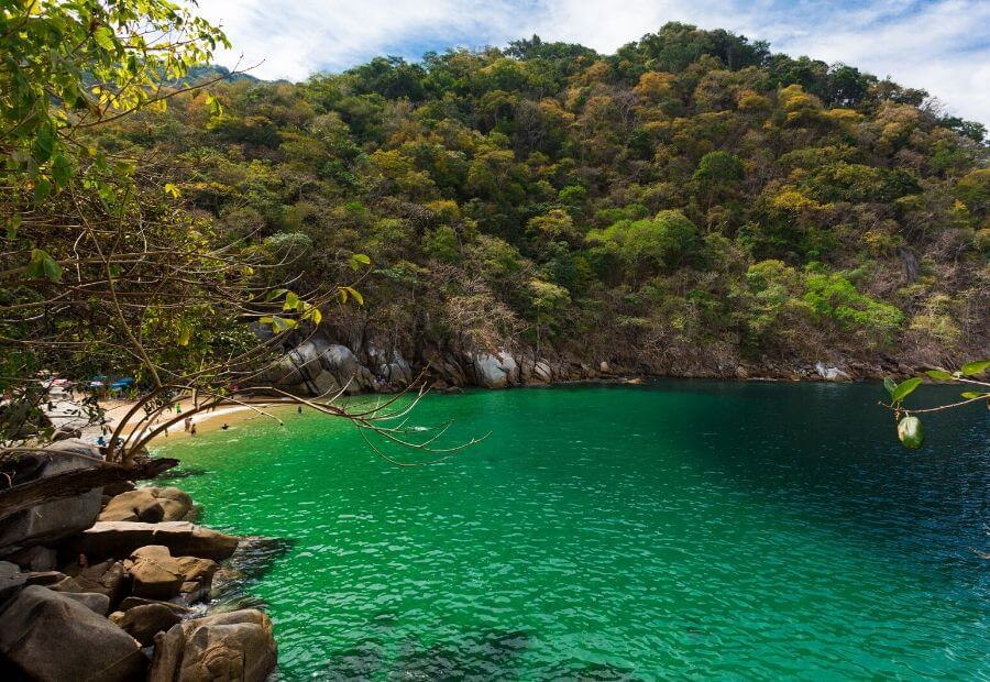 Beaches in Puerto Valllarta - Colomitos Beach