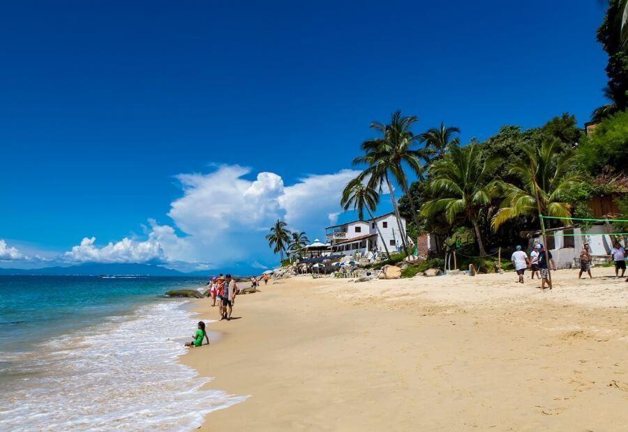 Best Beaches in Puerto Vallarta: Las Animas Beach