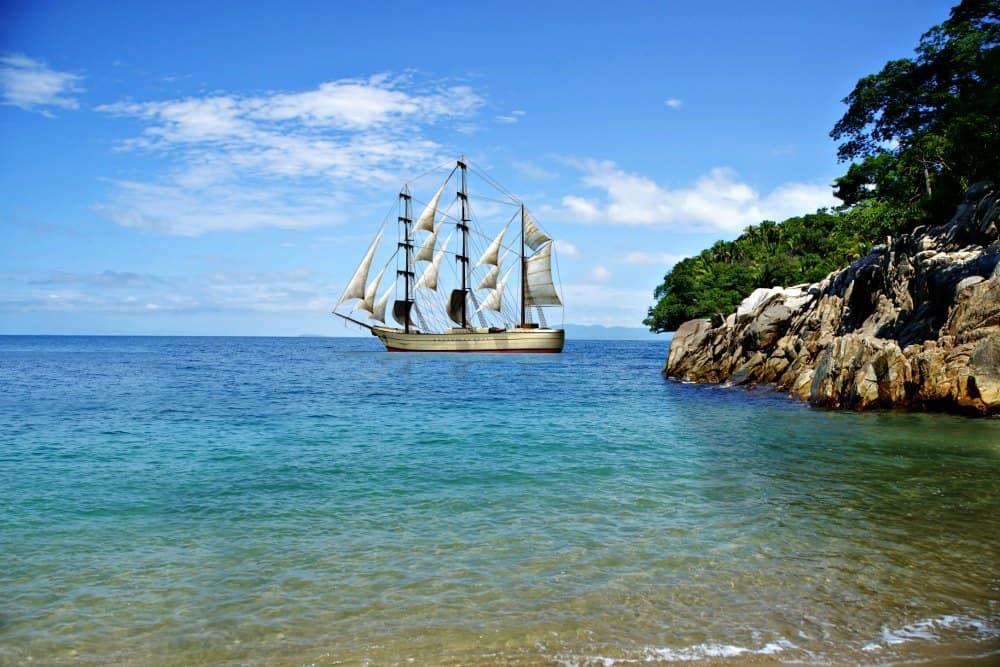 Puerto Vallarta Sailing Ship
