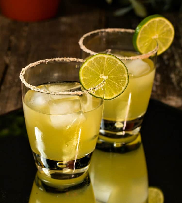 Spicy Verde Margarita