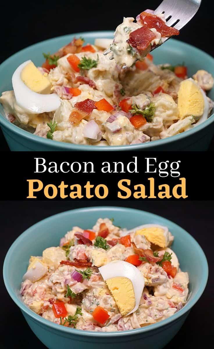 Potato Salad Bacon Egg