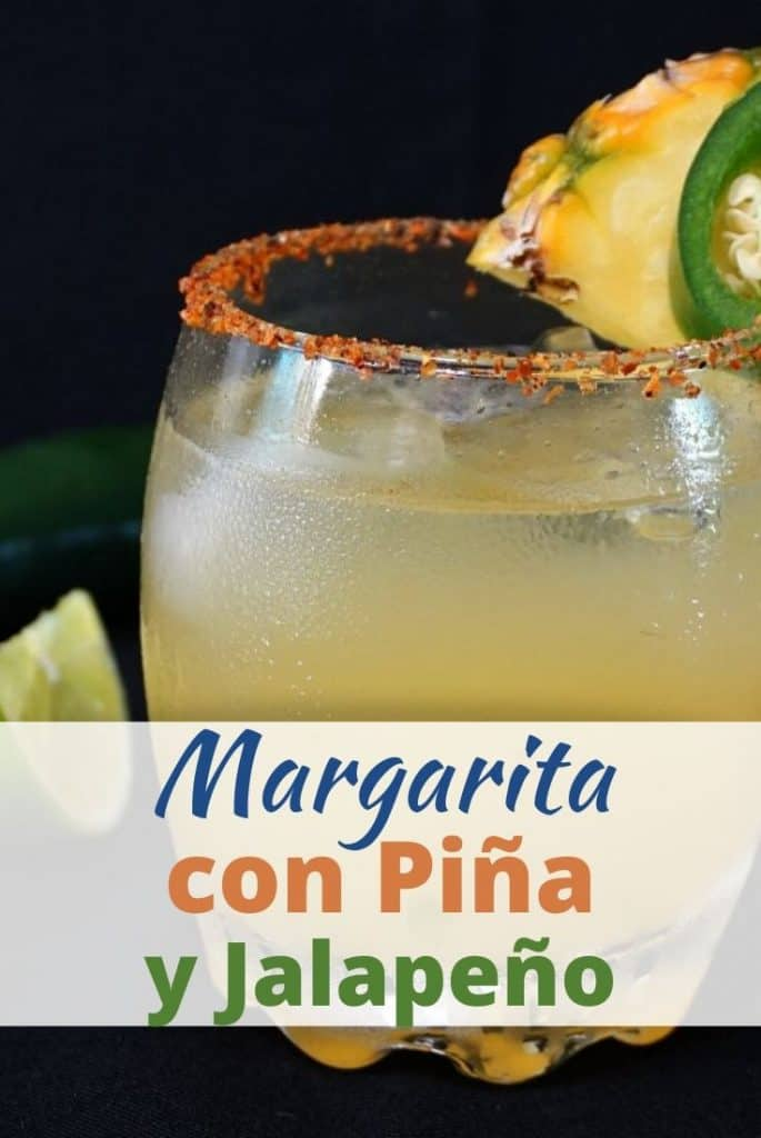Margarita con Jalapeño y Piña
