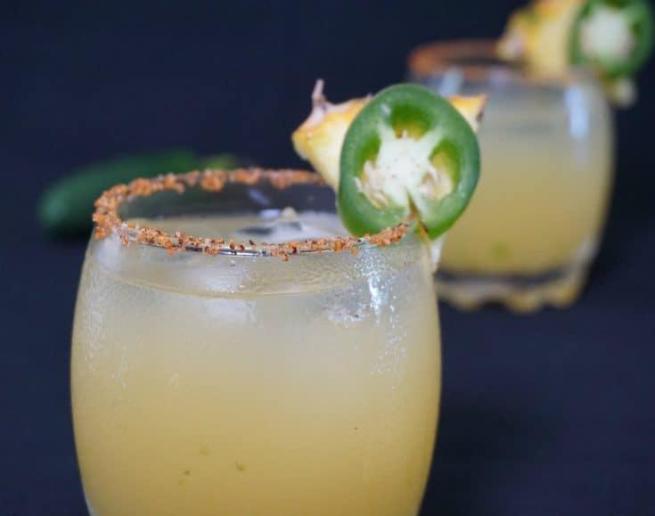 Pineapple Jalepeño Margarita