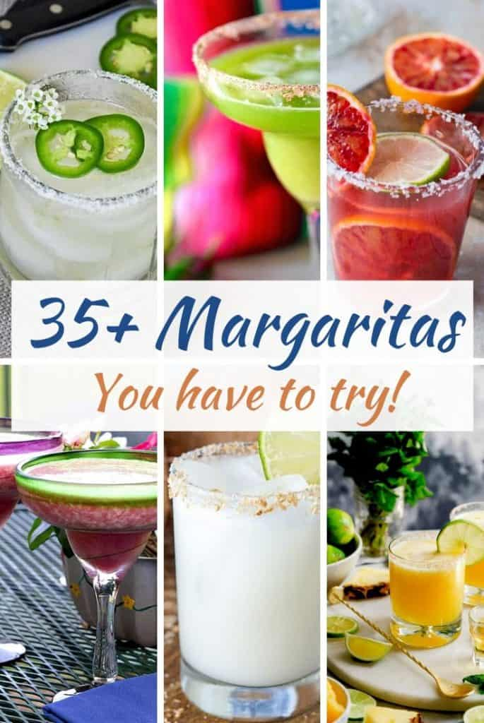 Margaritas you have to try!