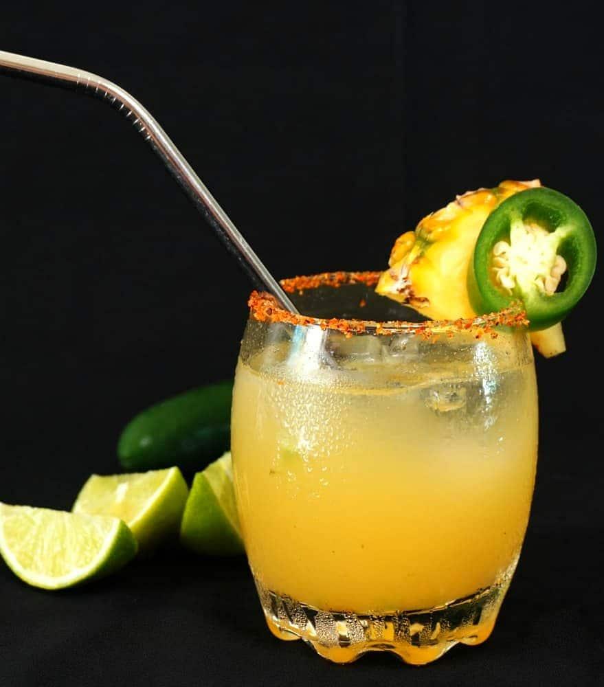 Pineapple Jalapeño Margarita Recipe