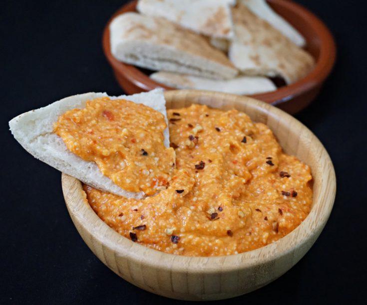 Tirokafteri - Spicy Feta and Red Pepper Dip