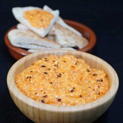 Tirokafteri – Spicy Feta and Red Pepper Dip