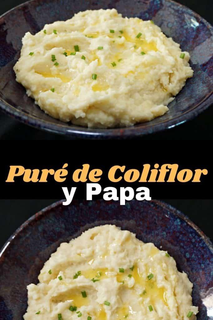 Puré de Coliflor y Papa