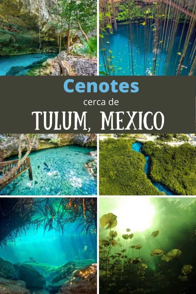 Cenotes.cerca de Tulum Mexico