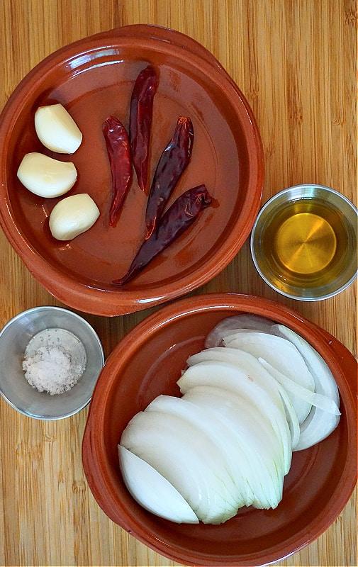 Chile de Arbol Ingredients
