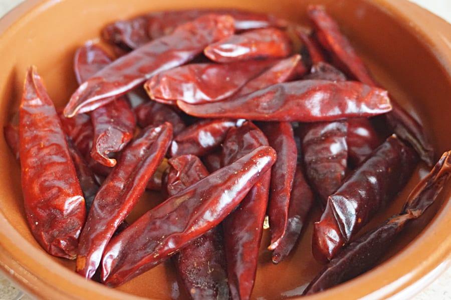 Salsa Chile de Arbol