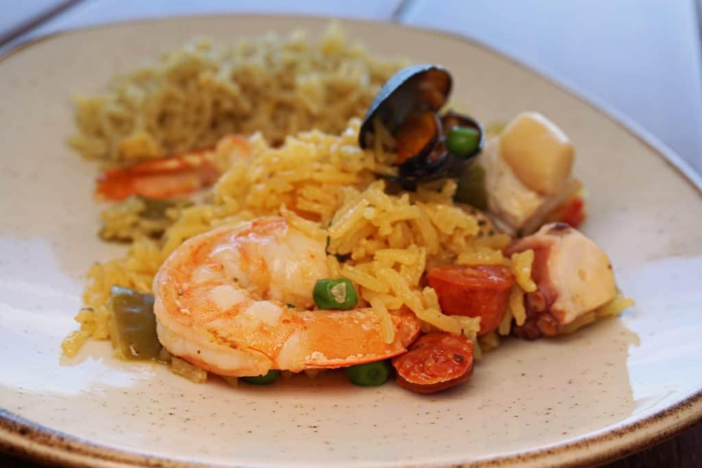 PV Shrimp Paella
