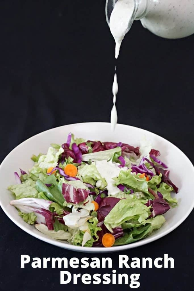 Ranch Dressing with Parmesan Cheese
