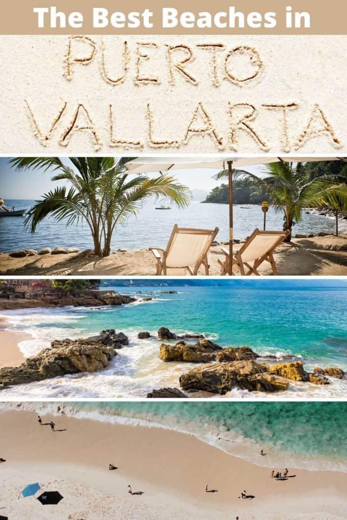 Best Beaches in Puerto Vallarta Pin