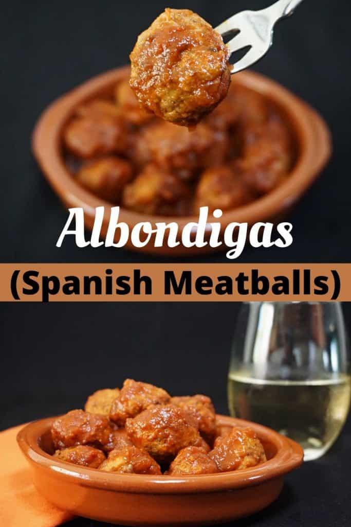 Spanish Albondigas Tapas Meatballs