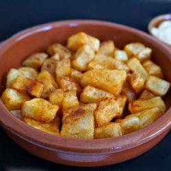 Patatas Bravas with Garlic Aioli
